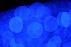 Cirkel bokeh kleur stock afbeeldingen