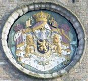 Cirkel de stadssymbool van Brugge Royalty-vrije Stock Afbeelding
