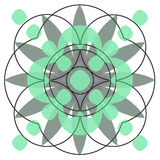 Cirkel designe Royalty-vrije Stock Afbeelding
