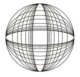 Cirkel designe Stock Afbeelding