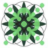 Cirkel designe Royalty-vrije Stock Afbeeldingen