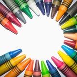 Cirkel geschikte kleuren en pastelkleuren royalty-vrije stock foto