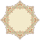 Cirkel Islamitische achtergrond drie Stock Afbeelding