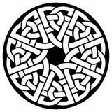 Cirkel Keltisch kader Stock Foto