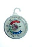 Cirkel koelkastThermometer Stock Foto's