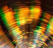 Cirkel Licht Onduidelijk beeld Stock Afbeelding