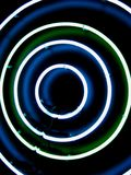 Cirkel lichten stock afbeelding