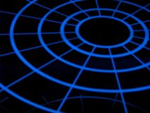Cirkel lilghts Vector Illustratie