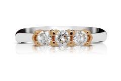 Cirkel med trilogin av diamanter Fotografering för Bildbyråer