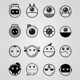 Cirkel minimaal objecten ontwerp Royalty-vrije Stock Fotografie