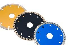 Cirkel molenbladen voor tegels die op whit worden geïsoleerd Royalty-vrije Stock Fotografie