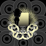 Cirkel ontwerp royalty-vrije illustratie
