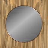 Cirkel på plankor Royaltyfri Bild