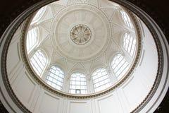 Cirkel plafond royalty-vrije stock afbeeldingen