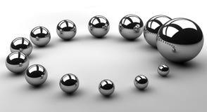 Cirkel van de groei royalty-vrije illustratie
