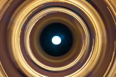 Cirkel van illusie royalty-vrije stock foto