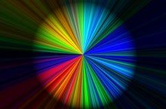 Cirkel van kleur Stock Foto's