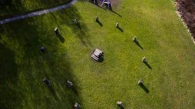 Cirkel van Stenen Stock Afbeeldingen