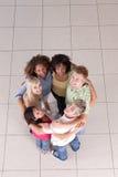 Cirkel van vrienden stock foto
