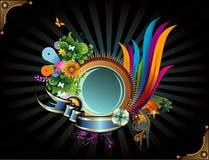 Cirkel vectorbanner Royalty-vrije Stock Foto