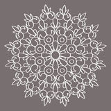 Cirkel vectorornament Rond Patroon Mandala vector illustratie