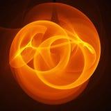 cirkelbrandstrålar vektor illustrationer