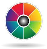 Cirkeldiagram Royalty-vrije Stock Foto's