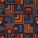Cirkeldriehoek velen naadloos patroon stock illustratie