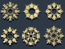 cirkelelement Arkivfoto