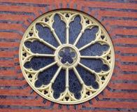 Cirkelfönster Royaltyfri Bild