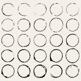 Cirkelfläck vektor illustrationer