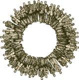 cirkelgemenskap Arkivbild