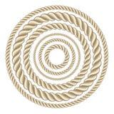 Cirkelkabels stock illustratie