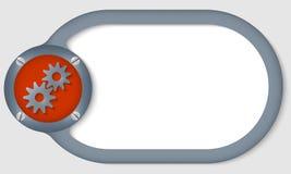 Cirkelkader vector illustratie