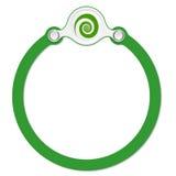 Cirkelkader royalty-vrije illustratie