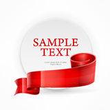 Cirkelkader met tekst Royalty-vrije Stock Afbeeldingen