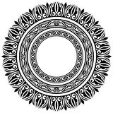 Cirkelkaders stock illustratie