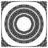 Cirkelkaders royalty-vrije illustratie