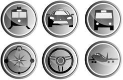 Cirkelloppsymboler Arkivfoto