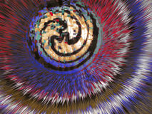 cirkelmatning Arkivbild