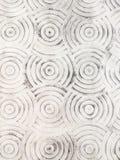 Cirkelmodell på det konkreta golvet Royaltyfri Fotografi