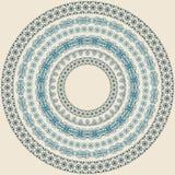 cirkelmodelltappning royaltyfri illustrationer