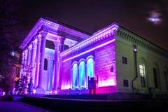 Cirkeln av den ljusa festivalen 2015 ENEA (VDNH) Royaltyfria Bilder