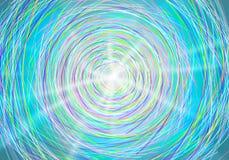 Cirkeln lines färgrikt Arkivfoto