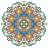 cirkeln snör åt den dekorativa rounden för prydnaden Royaltyfria Foton