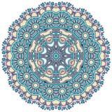 cirkeln snör åt den dekorativa rounden för prydnaden Arkivfoto