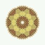 Cirkelpatroon in Arabische stijl Royalty-vrije Stock Foto