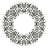 Cirkelpatroon in Arabische stijl Royalty-vrije Stock Fotografie