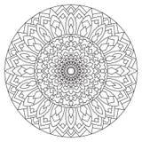 Cirkelpatroon in etnische stijl Royalty-vrije Stock Foto's