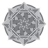 Cirkelpatroon of mandala Royalty-vrije Stock Afbeeldingen